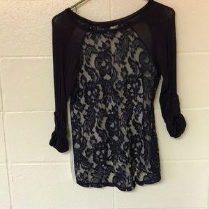 Lacey 3/4 length t-shirt blouse